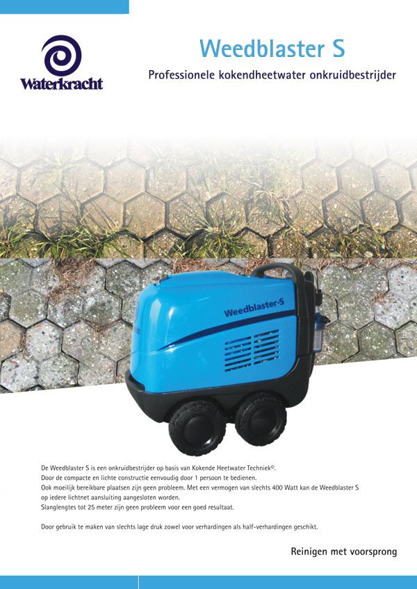 LeCoBa Weedblaster heetwater onkruidbestrijding