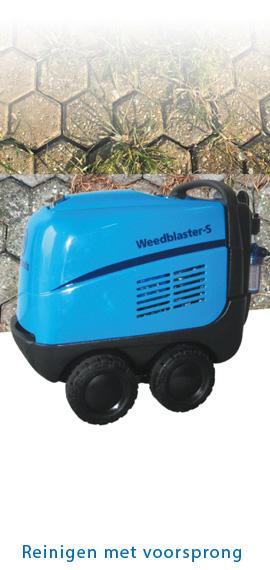 LeCoBa Weedblaster S heetwater onkruidbestrijding