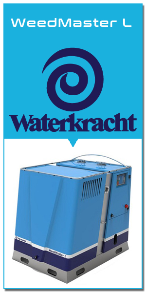 LeCoBa Wintelre heetwater onkruidbestrijding Wave Headweed Waterkracht
